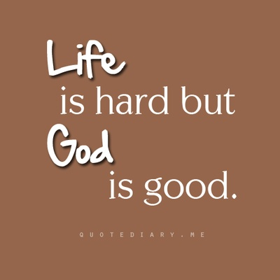 Life Is Hard But God Is Good Inside Out